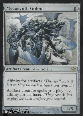 Mycosynth Golem, Fifth Dawn, Magic the Gathering
