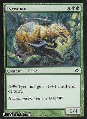 Tyrranax, Fifth Dawn, Magic the Gathering