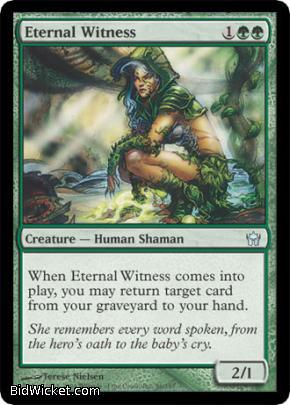 Eternal Witness, Fifth Dawn, Magic the Gathering