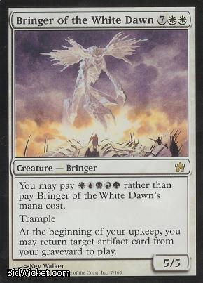Bringer of the White Dawn, Fifth Dawn, Magic the Gathering