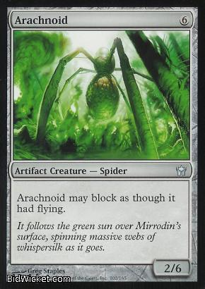 Arachnoid, Fifth Dawn, Magic the Gathering