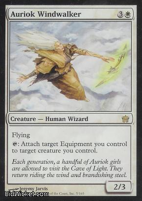 Auriok Windwalker, Fifth Dawn, Magic the Gathering