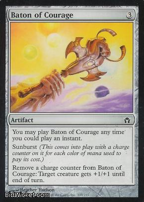 Baton of Courage, Fifth Dawn, Magic the Gathering