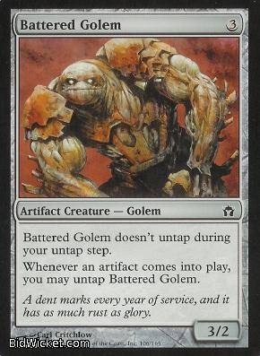 Battered Golem, Fifth Dawn, Magic the Gathering