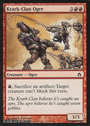 Krark-Clan Ogre, Fifth Dawn, Magic the Gathering