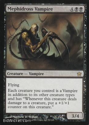Mephidross Vampire, Fifth Dawn, Magic the Gathering