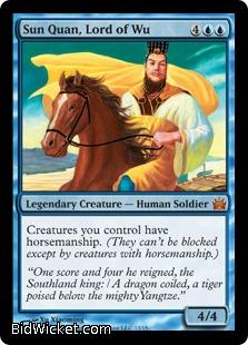 Sun Quan, Lord of Wu, From the Vault: Legends, Magic the Gathering