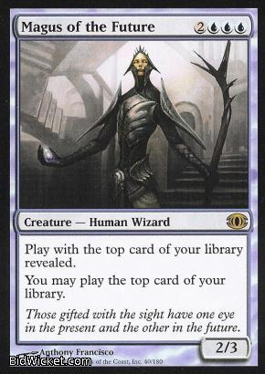 Magus of the Future, Futuresight, Magic the Gathering