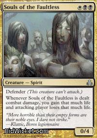 Souls of the Faultless, Guildpact, Magic the Gathering