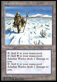 Adarkar Wastes, Ice Age, Magic the Gathering