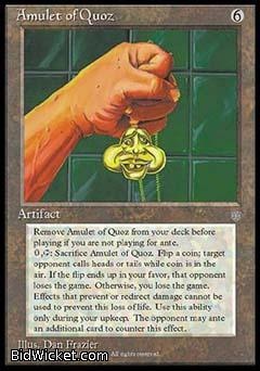 Amulet of Quoz, Ice Age, Magic the Gathering