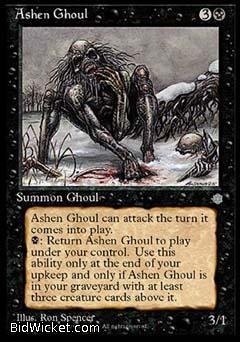 Ashen Ghoul, Ice Age, Magic the Gathering