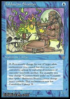 Balduvian Shaman, Ice Age, Magic the Gathering