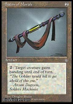 Baton of Morale, Ice Age, Magic the Gathering