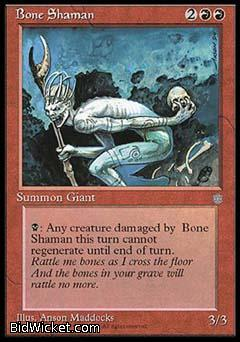 Bone Shaman, Ice Age, Magic the Gathering