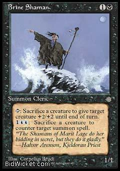 Brine Shaman, Ice Age, Magic the Gathering