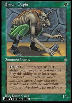 Brown Ouphe, Ice Age, Magic the Gathering