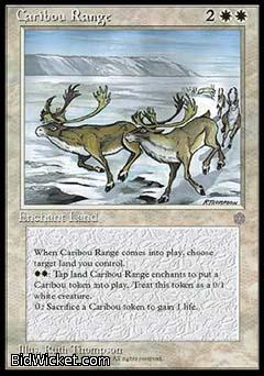 Caribou Range, Ice Age, Magic the Gathering