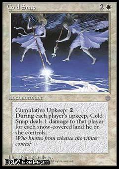 Cold Snap, Ice Age, Magic the Gathering