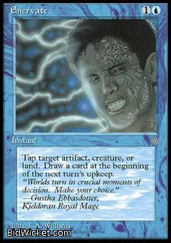 Enervate, Ice Age, Magic the Gathering