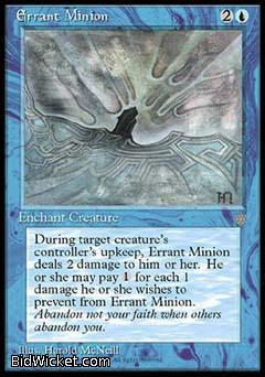 Errant Minion, Ice Age, Magic the Gathering