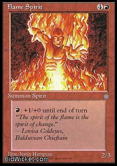 Flame Spirit, Ice Age, Magic the Gathering