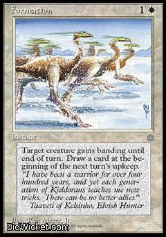 Formation, Ice Age, Magic the Gathering