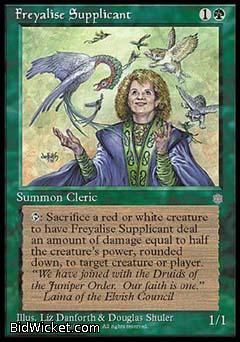 Freyalise Supplicant, Ice Age, Magic the Gathering