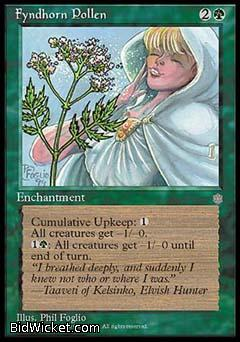 Fyndhorn Pollen, Ice Age, Magic the Gathering