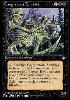 Gangrenous Zombies, Ice Age, Magic the Gathering
