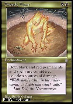 Ghostly Flame, Ice Age, Magic the Gathering