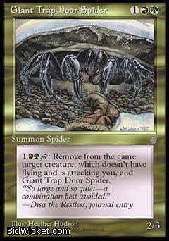Giant Trap Door Spider, Ice Age, Magic the Gathering