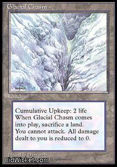 Glacial Chasm, Ice Age, Magic the Gathering