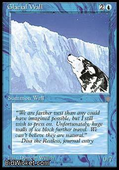 Glacial Wall, Ice Age, Magic the Gathering