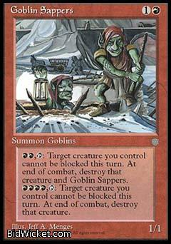 Goblin Sappers, Ice Age, Magic the Gathering
