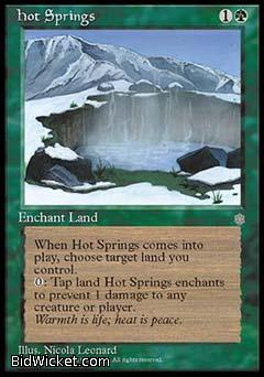 Hot Springs, Ice Age, Magic the Gathering