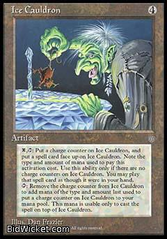Ice Cauldron, Ice Age, Magic the Gathering