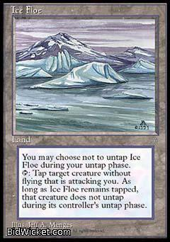 Ice Floe, Ice Age, Magic the Gathering