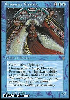 Illusionary Presence, Ice Age, Magic the Gathering