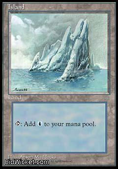 Island, Ice Age, Magic the Gathering