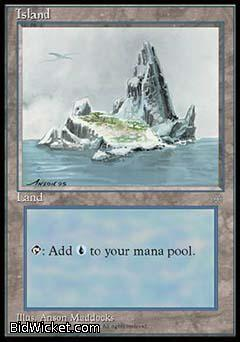 Island B, Ice Age, Magic the Gathering