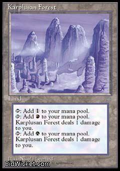 Karplusan Forest, Ice Age, Magic the Gathering