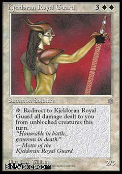 Kjeldoran Royal Guard, Ice Age, Magic the Gathering