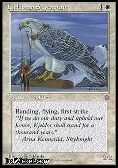 Kjeldoran Skycaptain, Ice Age, Magic the Gathering
