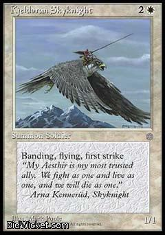 Kjeldoran Skyknight, Ice Age, Magic the Gathering