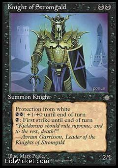 Knight of Stromgald, Ice Age, Magic the Gathering