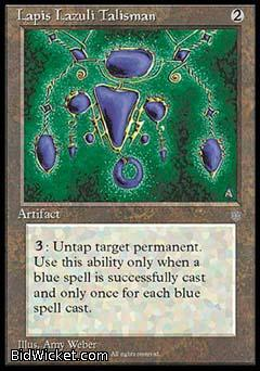 Lapis Lazuli Talisman, Ice Age, Magic the Gathering