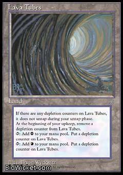 Lava Tubes, Ice Age, Magic the Gathering