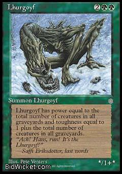 Lhurgoyf, Ice Age, Magic the Gathering