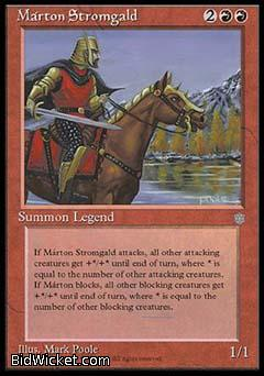Marton Stromgald, Ice Age, Magic the Gathering
